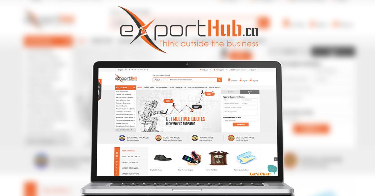 Exporthub.com – innovative B2B platform