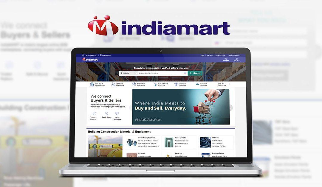 Indiamart.com – Indian analogue of Alibaba.com