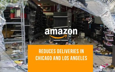 Amazon stops deliveries in some cities amid raging protests in the US