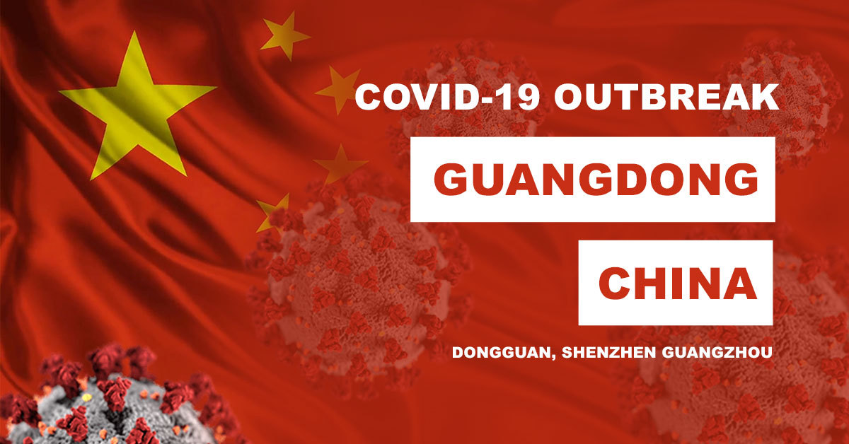 Major cities in China's Guangdong hit by COVID-19 outbreak