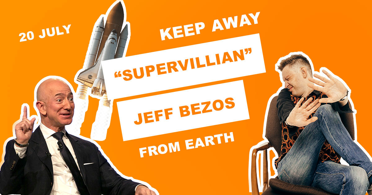 """Keep """"Supervillain"""" Jeff Bezos from returning to Earth, petitions beg"""